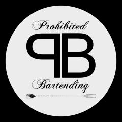 Logo Prohibited Bartending