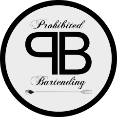Logo Prohibited Bartending